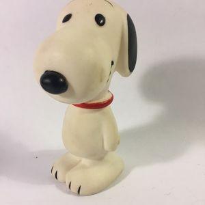 Vintage 1968 Plastic Snoopy, Figurine